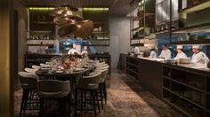 The famed chef's first South American restaurant pays homage to his past while also embracing local Brazilian ingredients.