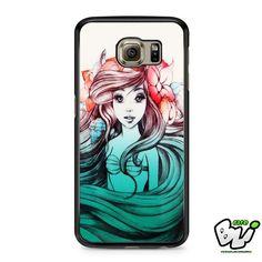 Ariel Little Mermaid Samsung Galaxy S7 Edge Case
