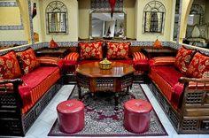 Canapé oriental salon marocain pas cher
