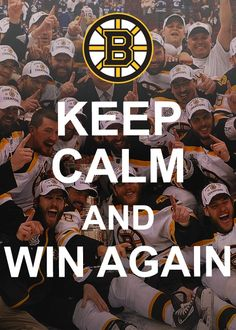 Exactly! Let's go Bruins. We want the Stanley Cup title back in Boston, MA! http://tilissports.com