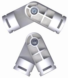 White PVC Fittings | Creative Shelters | Adjustable joint fittings Model #: PVC-243-F $5.54 Color: White Tubing Size: 1 inch Weight: 0.35 lbs