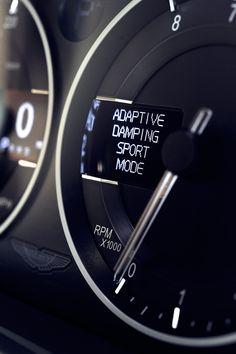 Aston Martin - Adaptive Damping Sport Mode