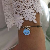 "Bracelets : Bracelet Argent ""CARPE DIEM"" Yuna"