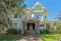 Absolutely beautiful inside, too! L.A.  Historic Higgins House For Sale