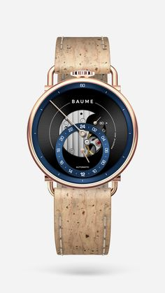 Custom Automatic with Natural Cork Strap Communication Methods, French Signs, Tomorrow Will Be Better, Make Time, Cork, Shopping Bag, Watches For Men, Natural, Lifestyle