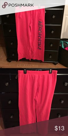 Aeropostale Sweatpants Hot pink Aeropostale sweatpants Aeropostale Pants