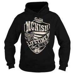 I Love Last Name, Surname Tshirts - Team MCNISH Lifetime Member Eagle Shirts & Tees