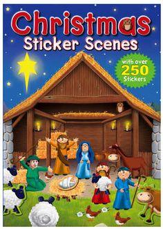 CHRISTMAS SCENES STICKERS