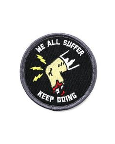 Keep Going Patch