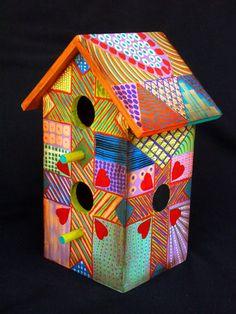 crazy birdhouses - Google Search