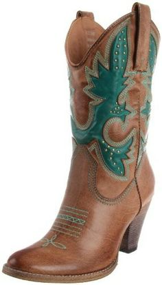 Ride off into the sunset in style with this distressed cowboy boot featuring stitch design, stud accenting, sleek leather material and chunky low heel. By Very Volatile Product Information• Heel Height - 3 1/4