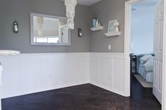 Jenna Sue: Dining room wainscoting = Done!