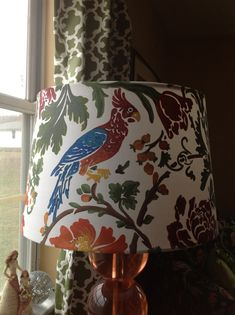 Image result for painted lamp shade