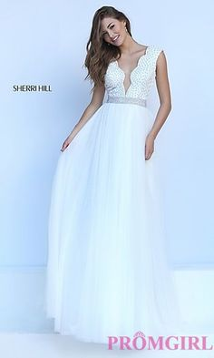Sherri Hill Prom Dresses and Pageant Gowns - PromGirl - PromGirl 0af3980a924