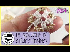 17°Tutorial - A Navette - Triplette di Perle accoppiate sull'apice dei Cerchi. - YouTube