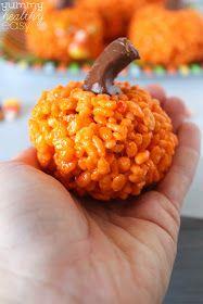 I Dig Pinterest: Pumpkin Krispies Treats