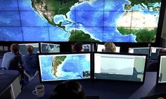From their control centre in Oxfordshire, analysts from Satellite Application Catapult can track vessels around the world and watch for abnormal or illegal behaviour.