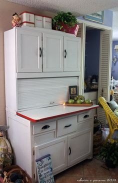 Ghosts Of Furniture Past Update - Diy Hoosier Cabinet Restoration