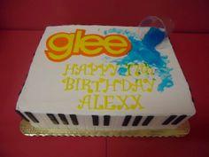 Glee themed cake www.bakedinmoore.com
