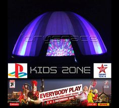 Dryspace is really happy to be playing their part by providing the innovative New #PlayStation #VirginRadio #KidsZone at the #EmiratesAirlinesDubaiRugbySevens 2015.