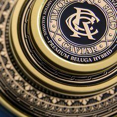 Royal Caviar Club on Behance Caviar, Behance, Graphic Design, Club, Visual Communication