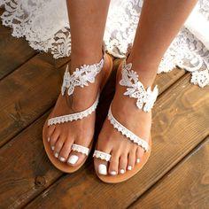 28 meilleures images du tableau Sandales de mariage de plage