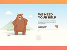 Donation Screen by Minh Pham #Design Popular #Dribbble #shots