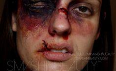 Broken Nose & Cut Lip Sfx Makeup Tutorial by smashinbeauty on ...