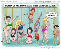 Pole dancing can be enjoyed by everyone. Fact :) #poledance #polefitness