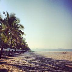 Goa's endless beaches and the Arabian Sea. #india #beautiful