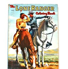 Your place to buy and sell all things handmade Vintage Coloring Books, Vintage Children's Books, Vintage Toys, The Lone Ranger, Birth Year, Childrens Books, Good Books, Magazines, The Past