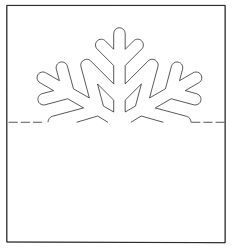 marque place flocons fcm - www. Christmas Place Cards, Christmas Paper Crafts, Christmas Activities, Kirigami, Christmas Pops, Xmas, Noel Christmas, Snowflake Template, Deco Table Noel