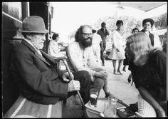 Ezra Pound and Allen Ginsberg, Portofino, 1967