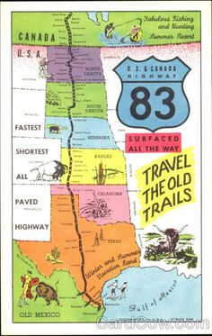 Travel the Old Cattle Trails