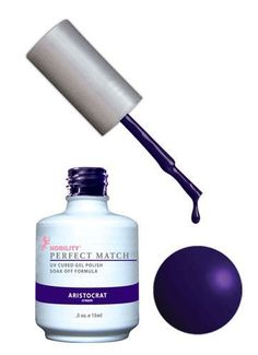 LeChat Perfect Match Gel + Matching Lacquer Aristocrat #77