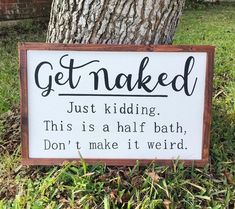 Funny Laundry Room Signs