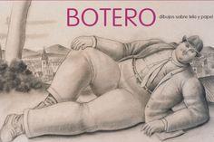 Dibujo del artista Fernando Botero a ser expuesto en el Museo Blanes
