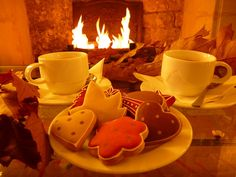 Comfy evening with gingerbreads and hot wine at the Jeu de Paume Hotel #Paris #Winter #Christmas #December