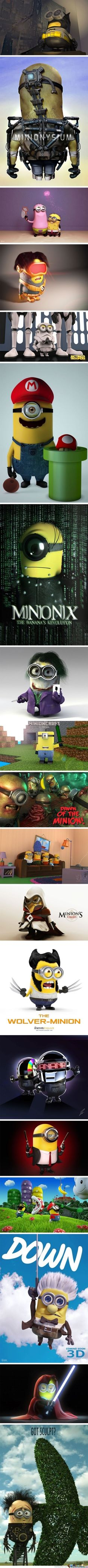 My favs r the minecraft one, the down one, and the Edward scissorhands one : )