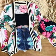 Fashion outfits - How to rock the hot weather in style Just Trendy Girls Girls Fashion Clothes, Teen Fashion Outfits, Swag Outfits, Mode Outfits, Cute Fashion, Girl Outfits, Trendy Fashion, Girl Fashion, Cute Summer Outfits