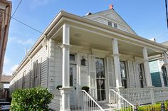 Shotgun House . Uptown . New Orleans . Louisiana