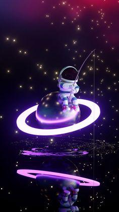 An astronaut hunts for the stars