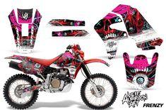 Honda FMX 650 2005 2006 2007 decoración pegatinas decal kit Grafiche Graphique Street