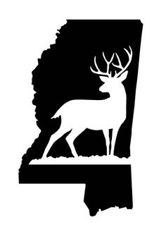 37946ab634850 New to FransEverythingShop on Etsy  Buck Mississippi State Decal (6.00 USD)  Vinyl Projects