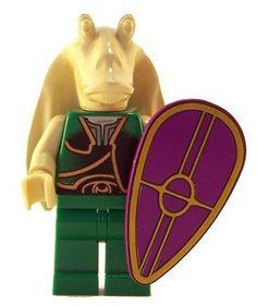 Gungan Soldier - LEGO Star Wars Figure
