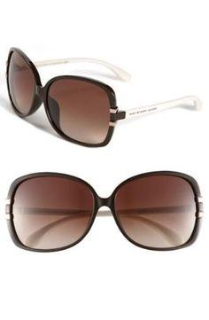 Marc Jacobs International Oversised sunglasses in Brown