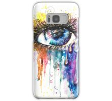 Samsung Galaxy Cases and Skins Eye Color Love by Sophie Appleton, popular contemporary Artist.