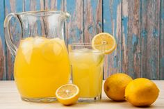 Lemonade with Thermomix Summer Drink Recipes, Best Smoothie Recipes, Good Smoothies, Summer Drinks, Cold Drinks, Essen To Go, Jus Detox, Joe Wicks, Smoothie