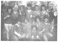 Bata Derbyshire & Blackburn Adlington Textile Mill Chorley Lancashire, D & B Ladies Football Team 1965, photo courtesy Charles Novotny Family Archive, we have more photos of the looms and employees of this mill, contact BRRC or see website
