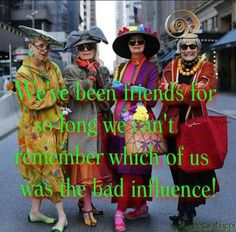Valerie, Jean, Debra, Diana, and Carol look fabulous everyday day of the week and Sunday& Easter Parade on Fifth Avenue was no exception. Soul Friend, My Best Friend, Best Friends, Bad Influence, Easter Parade, Advanced Style, True Friends, Friends Forever, Friendship Quotes
